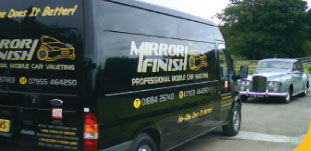 Mirror Finish Valeting Van